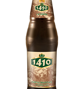 "1410 ""Non-filtered"" Lithuanian Beer"