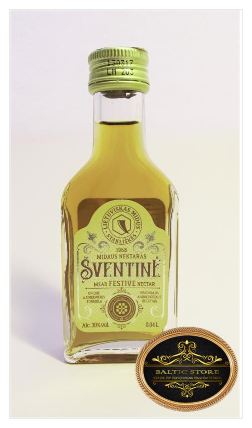 Lithuanian Mead Šventinė (Festive) - 0,04 l