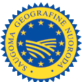 """protected geographical indication"" logo"