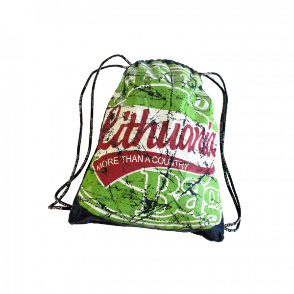 Backpack LITHUANIA Wanted green - Robin Ruth