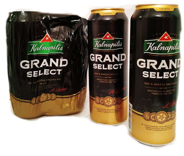 Kalnapilis Ggrand select Beer