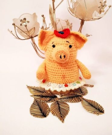 Soft toy Funny Pig