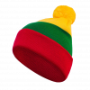 Hat With National Lithuanian Colors