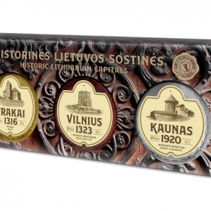 Lithuanian Mead -The new souvenir represents three capitals of Lithuania