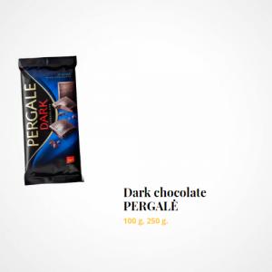 Dark chocolate PERGALĖ 72%